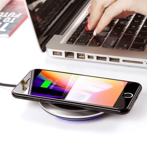 Draadloze oplader Qi ondersteuning iPhone X