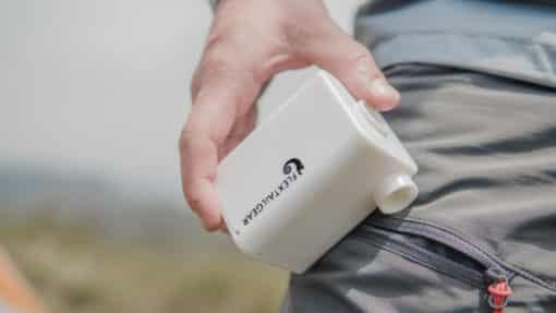 compacte en krachtige luchtbed pomp Max Pump Plus