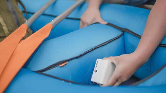 Elektrische luchtpomp boot opblazen Max Pump Plus luchtbed pomp