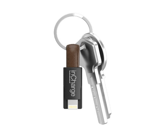 Eco-leer oplaad kabeltje voor iPhone inCharge kopen