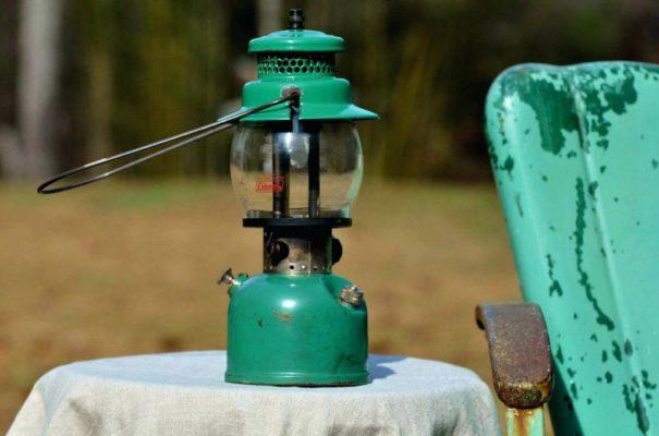 Gas camping lantaarn