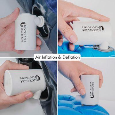 elektrische luchtbedpomp